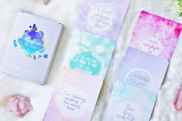 my peace self contemplation cards